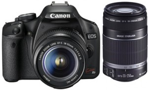Canon EOS Kiss X3 (引用:canon.jp)