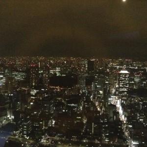 特別展望台からの夜景