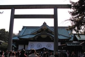 靖国神社 - 拝殿