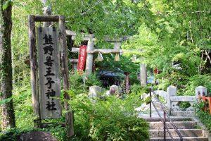 熊野若王子神社 - 社号標