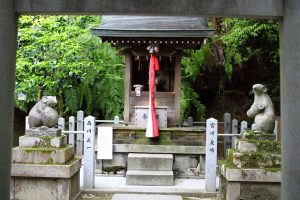 大豊神社 - 大国社と狛鼠