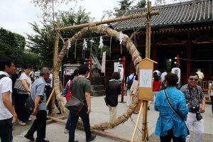 浅草神社 - 茅の輪