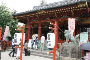 浅草神社 - 拝殿