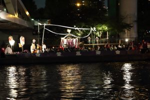 天神祭 - 御鳳輦船