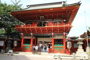 神田神社 - 随神門