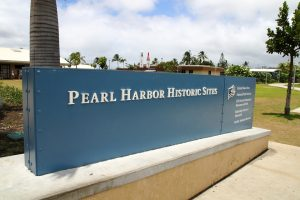 Pearl Harbor Historic Sites 入り口
