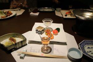 島根ワインと前菜