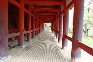 談山神社 - 神廟拝所の下