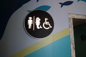 ユーモアを感じるトイレ